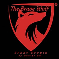 The Brave Wolf Logo